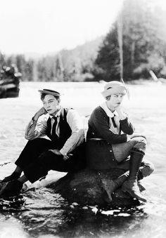 Buster Keaton, Phyllis Haver, 1923