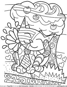 smiley cat free page sample adult coloring book collection