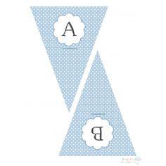 100 Banderín Letra CPB imprimible - Regala Ilusiones