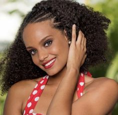 Alicia Miss French Guiana