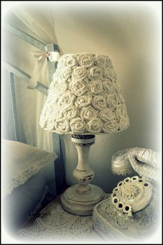 lamp - my shabby white home