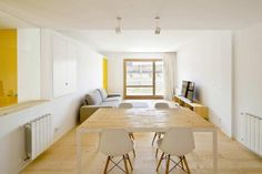 A Barcelona apartment designed by Sergi Pons Architecte, via Arch Daily.