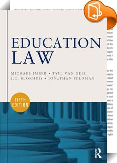 Education Law    ::  <P><EM>Education Law, 5<SUP>th</SUP> Edition</EM> provides a comprehensive survey of the legal problems and issues that confront school administrators and policymakers today. This textbook is organized around the belief that students need to read court cases to understand the subtlety and richness of the law, but for legal neophytes, cases without discussion and interpretation are often too difficult to comprehend. Thus, the text balances an explanation of the impo...