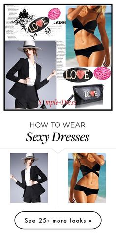 """""""Simpledress 10"""" by nejrasehicc on Polyvore featuring simpledress"""