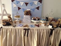 Baby Boy Shower #babyshower #blue