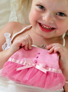 Giggle Me Pink - Ballet Tutu Coin Purse Building For Kids, Ballet Tutu, Purses And Bags, Little Girls, Coin Purse, Flower Girl Dresses, Backpacks, Dance