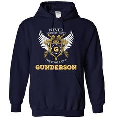 Cool GUNDERSON T-Shirts