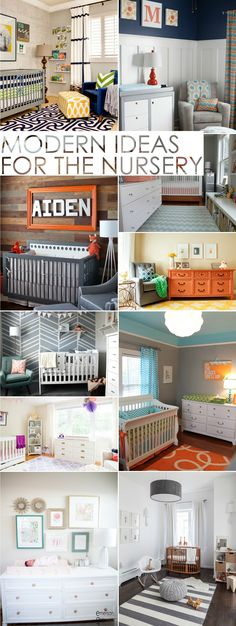 Modern Nursery Ideas - 10 Fab Nurseries That We Just Love! | Project Nursery
