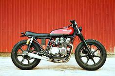 ϟ Hell Kustom ϟ: Kawasaki KZ650 By Herencia Custom
