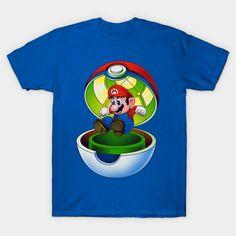 Pocket Plumber T-Shirt - Super Mario Bros T-Shirt is $14 today at TeePublic!