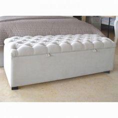 upholstered blanket box design ideas - Google Search