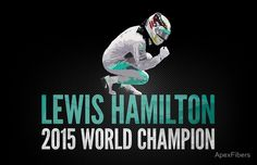 Lewis Hamilton 2015 World Champion