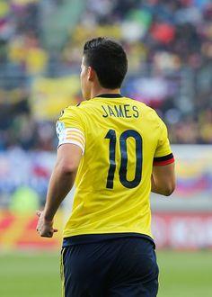 James Rodriguez Capitan. Copa America Chile 21.6.15