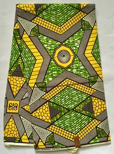 House of Mami Wata African Print Fabrics https://www.etsy.com/listing/578559838/african-print-fabric-ankara-yellow-green