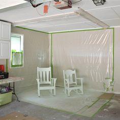 DIY Garage Paint Booth    Hearts & Sharts