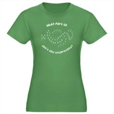 Marching Band Drill Chart Womens Fitted T-Shirt Funny Womens Fitted T-Shirt dark by CafePress - L Kelly Green