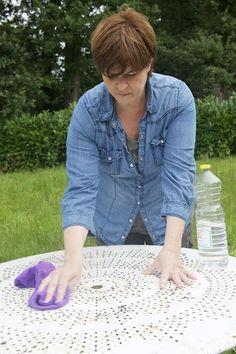 Etape 3. Dernier lavage au vinaigre d'alcool