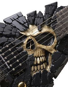 SKULLS - The ESP Shinigami Guitar - Shared by Laith Faouri this looks cool