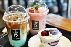 coffe bene shop, korea
