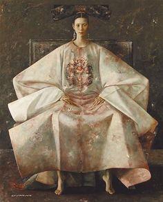 Lu Jian Jun nació en 1960 en la China continental y desde muy temprana edad demostró una gran habilidad para dibujar y pintar.