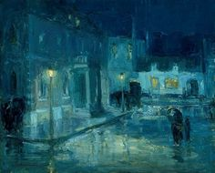 Scott-Rainy Night - William Edouard Scott - Wikipedia