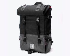 Black Backpack, City Backpack, Travel Backpack, Man Backpack, Laptop bag, Nylon backpack, Hipster Backpack, WRBL, Gifts For Boyfriend