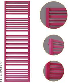 CODE - grzejnik powstał przy pomocy wiązki lasera, dzięki czemu uzyskane kształty są tak dokładne.
