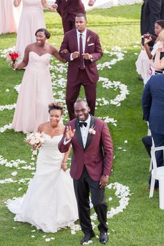 Love Grows | Martine and Jimmy Big Day by Phillipa Maitland Photography | African Canadian Weddings
