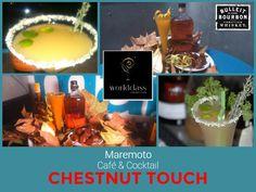 "Hoy es un buen día para probar nuestra creación ""Chestnut touch"" para #WorldClass15 en Maremoto Café & Cocktail @Chusbartender"
