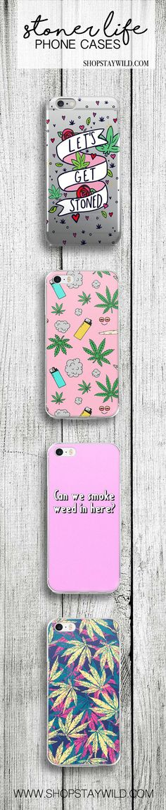 Love these stoner life phone covers from ShopStayWild  #weed #cannabis #marijuana #weedhead #weedhumor #420 #710 #stoned #kush #ganja #pipe #bong #lighter #joint #cases #case #ideas #style #accessories