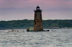 11 Historic Lighthouses In Maine Whaleback Light, Kittery Road Trip Map, East Coast Road Trip, Road Trips, Maine Lighthouses Map, Acadia National Park, National Parks, Places To Travel, Places To Visit, Grand Canyon Camping