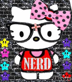 hello kitty nerd Picture #127892762 | Blingee.