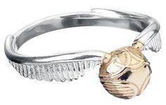 Goldener Schnatz - Ring von Harry Potter