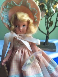 Rare  Vintage  Nancy Ann Storybook Doll  Commencement by Jewelmoon