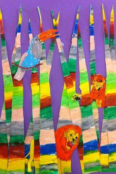 douanier rousseau Rousseau, Art Plastique, Tour, Mars, Art Projects, Painting, Carnival, Elementary Schools, March