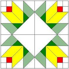 Buttercup Quilt Block Pattern