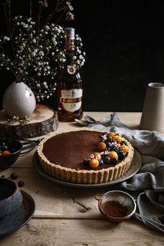 Nepečený Čokoládovo Orechový Tart – Stvory z kuchyne Cake Recept, Healthy Cookies, Cheesecakes, Pie, Chocolate Cakes, Tarts, Desserts, Recipes, Food