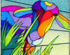 Mi cuello colorido de los bosques por AEMgallery en Etsy