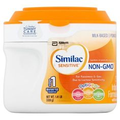 Abbott Similac Sensitive Infant Formula with Iron Milk Based Powder Stage 1 Birth-12 Months 1.41 lb