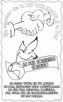 """Poster con el lema """"La paz empieza contigo"""" en A4 y distintos tamaños para recortar y montar el día escolar de la no violencia y la paz. """"La paz comienza contigo"""" tamaño folio """"La paz comienza contigo"""" tamaño 1×2 """"La paz comienza contigo"""" tamaño 2×2 """"La paz comienza contigo"""" tamaño …"""