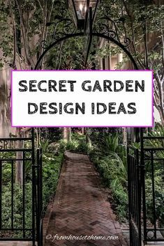 Backyard Shade, Backyard Plan, Backyard Privacy, Backyard Retreat, The Secret Garden, Secret Gardens, Garden Paths, Garden Landscaping, Charleston Gardens