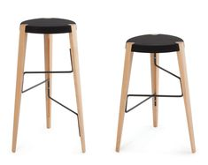 These would solve the horror of sitting on a bar stool only to find my legs dangling above the footrest.