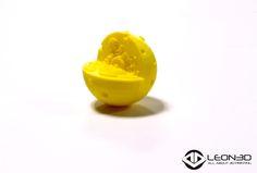 Célula animal impresa en PLA amarillo    #educacion #LEON3D #LIONPRO3D #PLA #tecnologia #innovacion #LEGIO3D