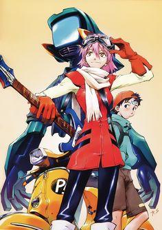 Production I.G adquiere los derechos del Anime FLCL para proyectos como un Remake.