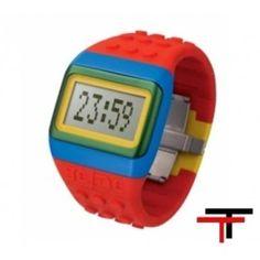 Divertido Reloj Lego: Relojes Lego Odm  http://www.tutunca.es/reloj-lego-rojo