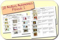 Ateliers Autonomes Période 1 MS-GS