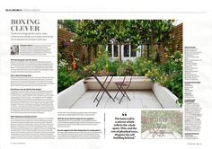 "30 Likes, 8 Comments - Joanna Archer Garden Design (@joannaarchergardendesign) on Instagram: ""Our small courtyard design is featured in Homes&Gardens December 2016 issue. Fabulous pleached…"""