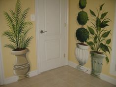 Potted Plant Hallway