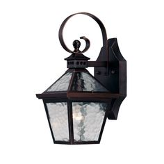 """View the Acclaim Lighting 7652 Bay Street 1 Light 14"""" Height Outdoor Wall Sconce at Build.com."""