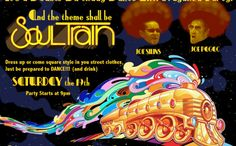 Soul Train Invitation